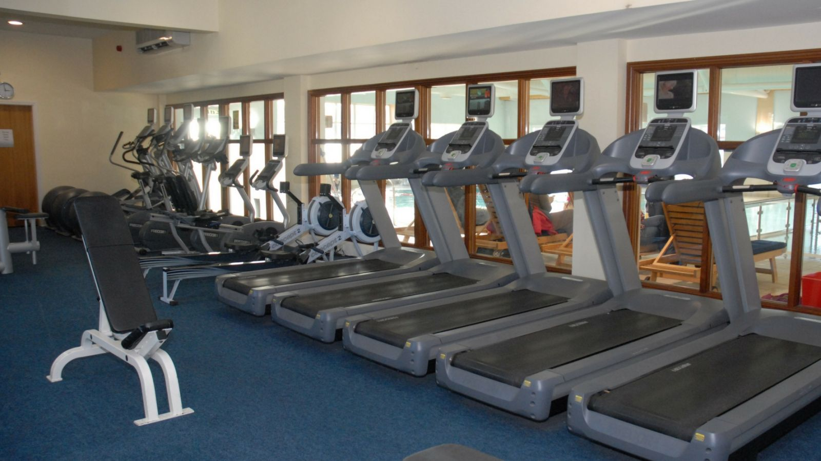 Gym at Auburn Lodge Hotel
